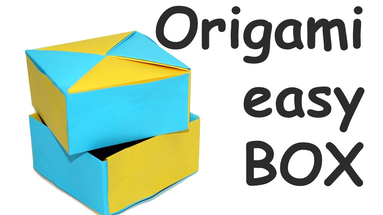 simple paper box instructions