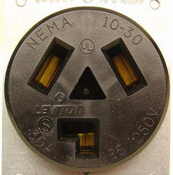 wiring instructions for 2 phase receptacle