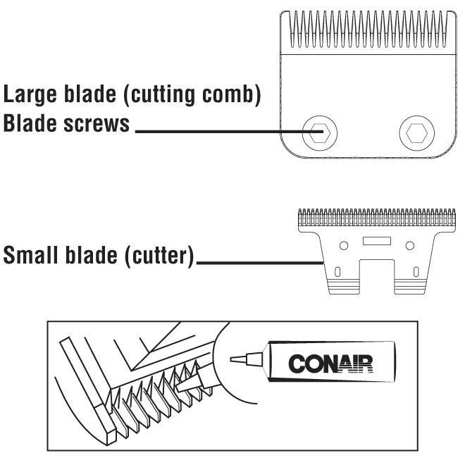 conair man all in 1 trimmer instructions