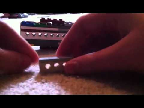 lego throwing knife instructions