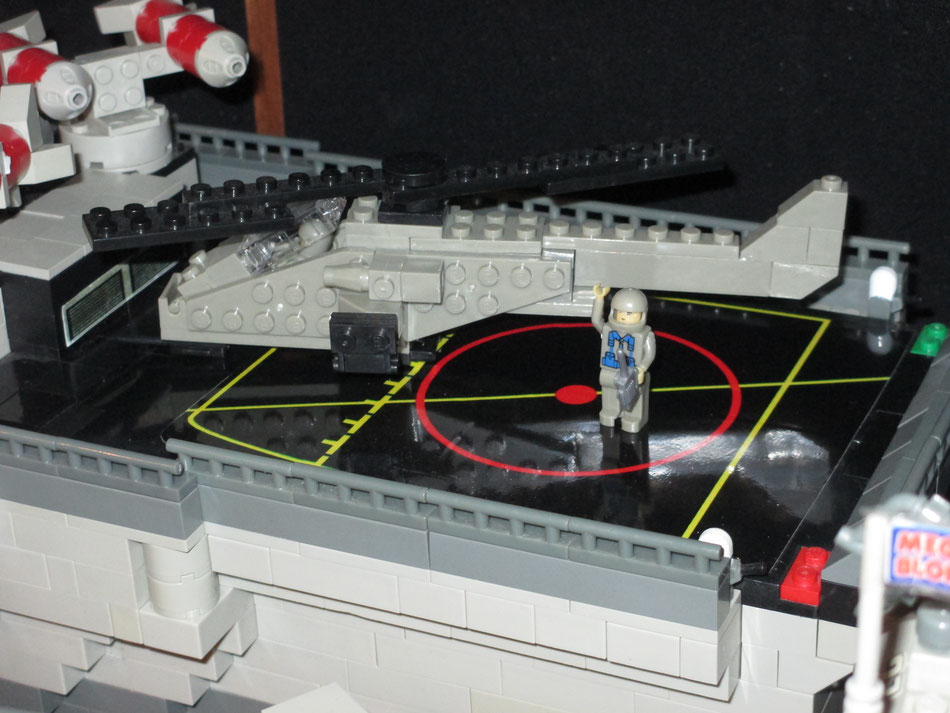 uss sulaco building instructions